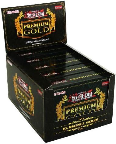 Yu-Gi-Oh! Yu-Gi-Oh! Yu-Gi-Oh! Premium Gold Display deutsch (5 x Premium Gold) [Import alleFemmed] | Produits De Qualité  642211