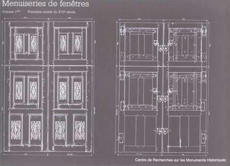 Menuiseries de fenêtres, fenêtres et volets