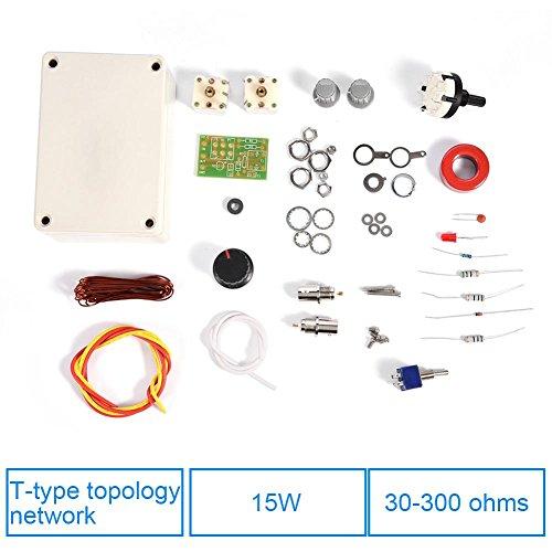 HF Transceiver Kit Manueller Antennentuner Tune DIY Precision Kit 1-30 MHz für HAM Radio QRP DIY Kit Hf-antennen-tuner