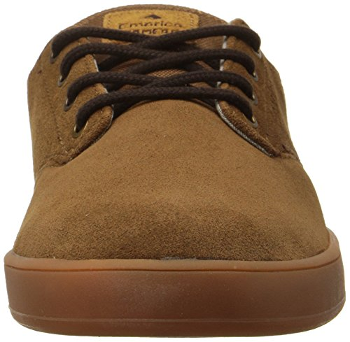 Emerica Laced By Leo Romero-M, Baskets mode homme BROWN/GUM/BROWN