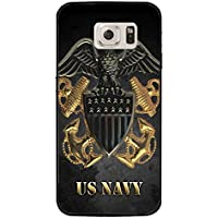 Samsung Galaxy S7 Cool USN Navy Seals Logo Cover Shell Fashionable Golden Design U.S.Navy Seals Phone Case Unique Design Cover for Samsung Galaxy