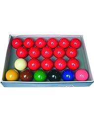 Juego de 22 bolas de snooker (52,4 mm)