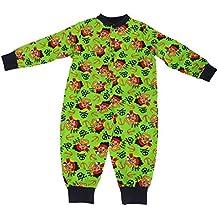 Disney - Pijama entero / mono pijama abotonado con diseño de Jake y los piratas del país de Nunca Jamás para niños