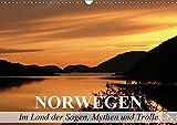 Norwegen - Im Land der Sagen, Mythen und Trolle (Wandkalender 2019 DIN A3 quer): Die landschaftliche Schönheit des Königreiches Norwegen (Monatskalender, 14 Seiten ) (CALVENDO Natur)