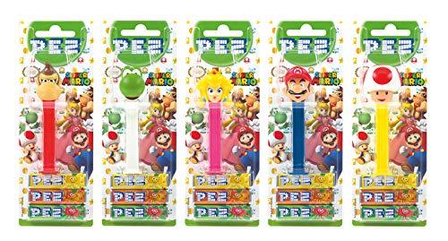 ENDO (5 Spender mit je 3 PEZ Bonbons á 8,5g) + 1 Nachfüllpack (8 PEZ Bonbons á 8,5g) ()