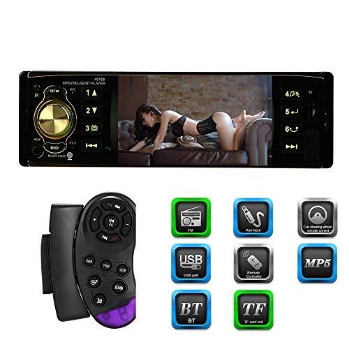 Erfordert Hd-dvd-player (Meteor fire Auto MP5-Player 4,1 Zoll TFT HD 1080P Digitaler Bildschirm Autoradio BT-Radio-Reise-Autoradio-DVD-Player mit einem Din und Bluetooth-Autoradio-Audio)