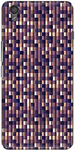 The Racoon Lean printed designer hard back mobile phone case cover for Oneplus X. (Dark Squar)