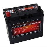 Orbis 12V 45Ah 54524 StartPower KFZ Batterie Starterbatterie - einsatzbereit