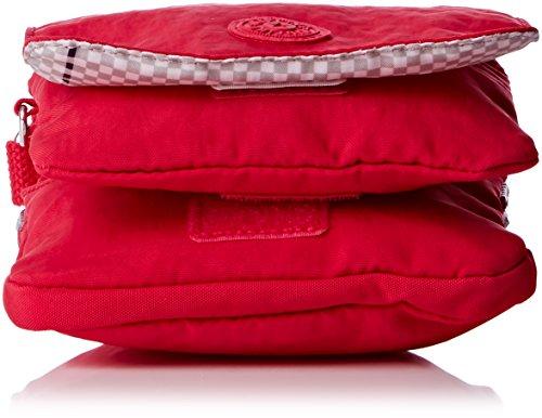 Kipling Eldorado, Damen Umhängetasche Pink (flamboyant Pink)