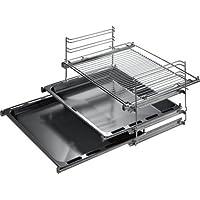 Bosch HEZ368301- Sistema de tres niveles de guías telescópicas para el horno (Cocina/Horno, 2,75 kg, 70 x 360 x 480 mm)