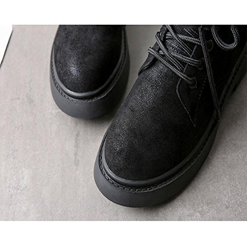 Stivali super confortevoli Sentirsi a proprio agio e freddo scivoloso Scarpe casual da donna , 36 , black 42