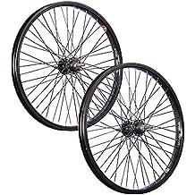 Taylor Wheels 20 pulgadas juego ruedas bici BMX 48 negro