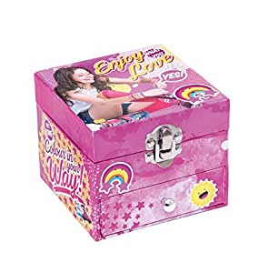 disney soy luna bo te bijoux coffret bijoux avec. Black Bedroom Furniture Sets. Home Design Ideas