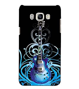 Fuson Designer Back Case Cover for Samsung Galaxy On Nxt (2016) (A Guitar Musical Instrument)