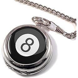 8 Ball Pool Full Hunter Pocket Watch