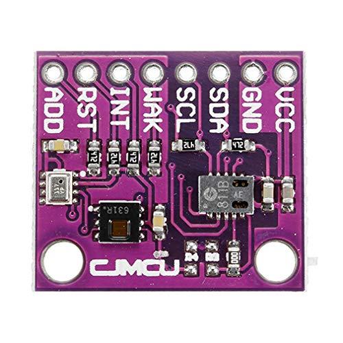 LeoboodeCJMCU-8128+CCS811+HDC1080+BMP280 Temperature Humidity Gas Pressure Module Board High Precision CO2 Air Quality Sensor -