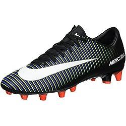 Nike 831963-013, Botas de fútbol para Hombre, Negro (Black/White-Electric Green), 45 EU