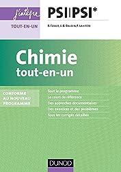 Chimie tout-en-un PSI-PSI* - nouveau programme 2014