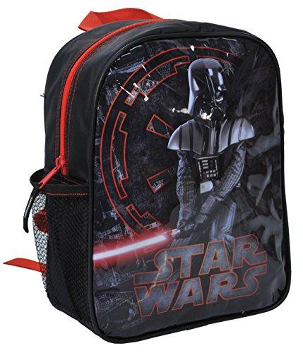Ragusa-Trade Star Wars Startrooper Darth Vader Yoda (STG), Rucksack Kindergartenrucksack mit Hauptfach und Getränkenetz, 28 x 22 x 10 cm, schwarz