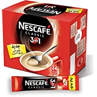 Nescafe Classic 3in1 Instant Coffee Mix Sachet, 24 Sticks/20g