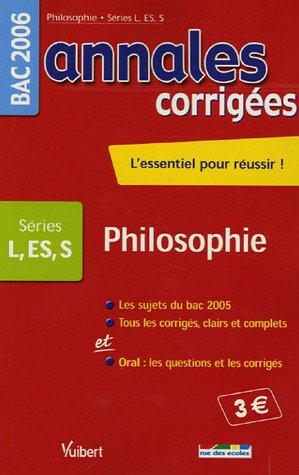 Philosophie Bac L, S, ES
