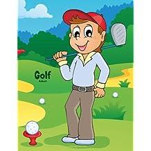 Golf-Malbuch 1