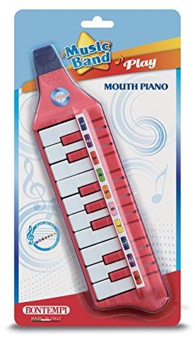 Bontempi 33 1012 Blasharmonika mit 10 Tasten (C-E). L. 310 mm