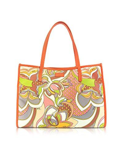 Emilio Pucci Damen 82Bc5682260s28 Orange Polyester Tote (Pucci Emilio Handtaschen Damen)