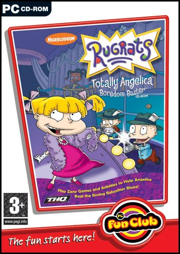 PC Fun Club: Rugrats Totally Angelica Boredom Buster (PC CD) (Angelica Von Rugrats)