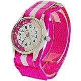 Reflex-Time-Teacher-Hot-Pink-White-Easy-Fasten-Girls-Childrens-Watch-REFK0006