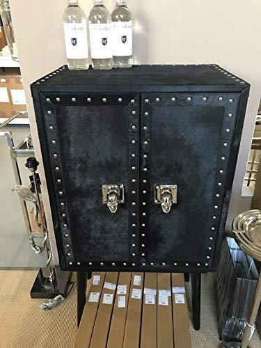 FidgetGear Barschrank Black Echtfell Show One Size