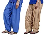 Indistar Women Cotton Semi-Patiala with ...
