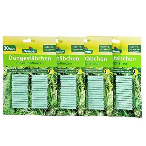 dehner-dungestabchen-fur-grunpflanzen-4-x-30-stuck-120-stuck