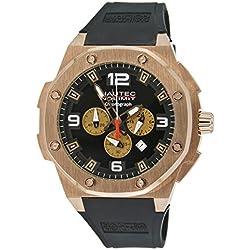 Nautec No Limit Sailfish SF QZ/RBRGRGBK Gents' Analogue Quartz Watch with Rubber Strap, XL