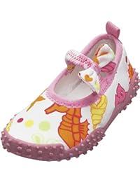 Playshoes Aquaschuhe, Badeschuhe Meerjungfrau mit UV-Schutz 174770 Mädchen Aqua Schuhe