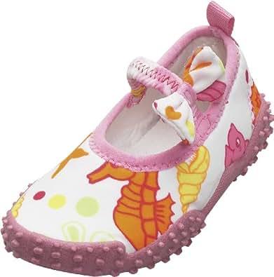 Playshoes, Badeschuhe Meerjungfrau mit höchstem UV-Schutz nach Standard 801 174770, Mädchen Aqua Schuhe, Pink (original 900), EU 18/19