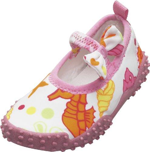 Playshoes Aquaschuhe, Badeschuhe Meerjungfrau mit höchstem UV-Schutz nach Standard 801 174770, Mädchen Aqua Schuhe, Pink (original 900), EU 26/27