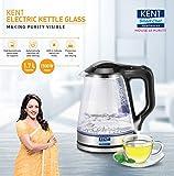 Kent 16023 1500-Watt Electric Kettle (Transparent)