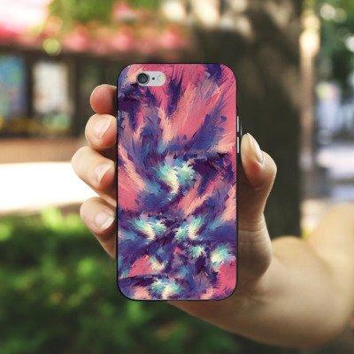 Apple iPhone 5 Housse Étui Protection Coque Couleurs Motif Motif Housse en silicone noir / blanc