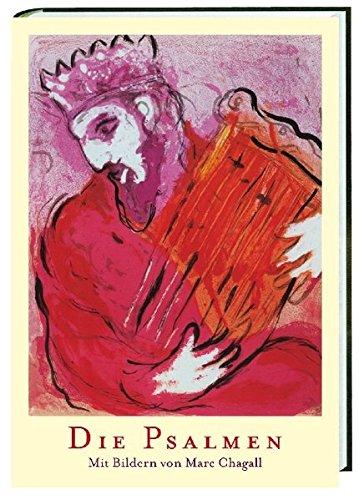 Die Psalmen im Großdruck: Mit Bildern von Marc Chagall