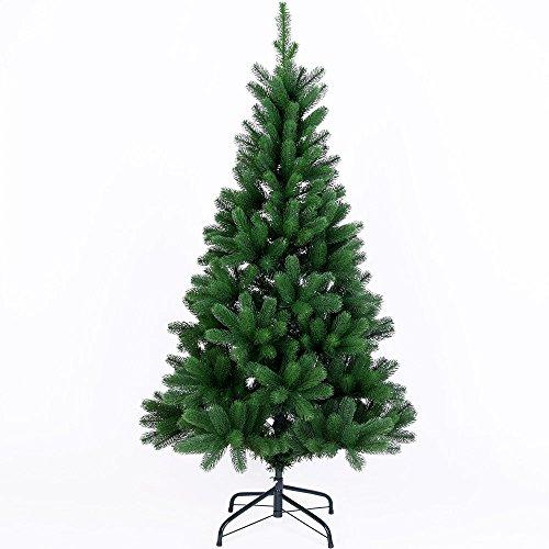 Deuba Weihnachtsbaum 140 cm Spritzguss | künstlicher Christbaum | Tannenbaum Stecksystem Weihnachten -