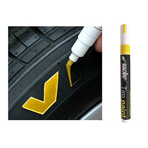 Simoni Racing TP/1Y Reifen-Markierung Stift (Tyre Marker) -Gelb, Yellow