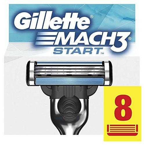 Gillette Mach3 Start Recambio Maquinilla de Afeitar   8 Unidades