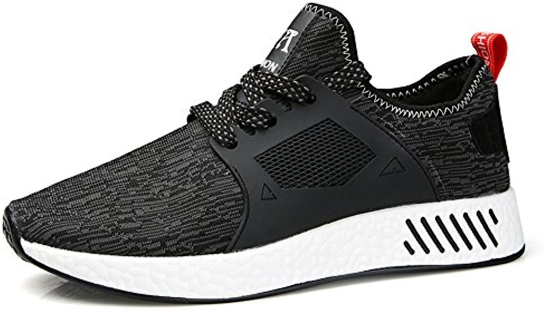 MUOU Schuhe Herren Schuhe Mode Mesh Licht Breathable Männer Freizeitschuhe Männer Sneaker Turnschuhe Laufschuhe