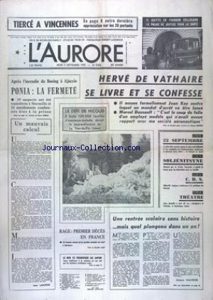 AURORE (L') [No 9953] du 09/09/1976 ...