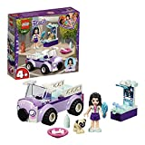 LEGO 41360 Friends Emma's Mobile Vet Clinic Playset, Vet Van Emma mini-doll and Dog figure, Toy Vet