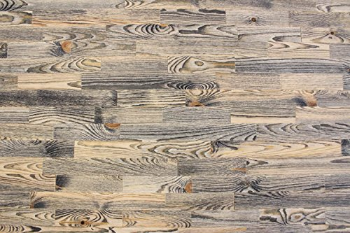 wodewa Holz Wandverkleidung Vintage Optik I 1m² Nachhaltige Echtholz Wandpaneele Moderne Wanddekoration Holzverkleidung Holzwand Wohnzimmer Küche Schlafzimmer V004 -