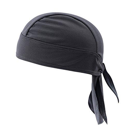 Tagvo Sports Headwear Bandana, Unisex de Secado Rápido Absorbente de Humedad Bandana Headwear Ajustable Respirable Envoltura de la Cabeza Bufanda de Ciclo Skull Cap Motorcycle Helmet Liner