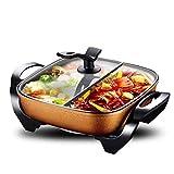 Multifunktionale Mandarine Ente Pot - Hot Pot - Fondue Pot - Saucepans - Suppe Kochwerkzeug - Non-Stick-Oberfläche und Cool Touch Griffe