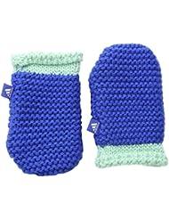 adidas Inf Mittens - Mitones para niño, color azul / verde / blanco, talla XS